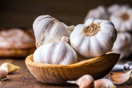 A new study found that eating garlic can combat age-related changes in gut bacteria that are associated with memory issues.