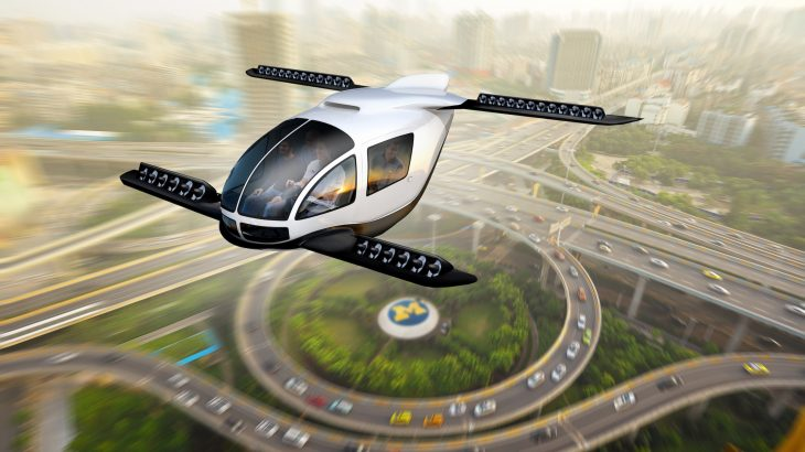 """A new study has found that flying cars like the ones seen on """"The Jetsons"""" could potentially be a sustainable option for longer trips, especially within congested cities."""