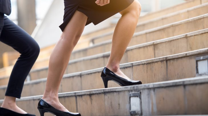 Researchers say that exercising more could be as simple as taking the stairs every day rather than ramping up a workout to the extreme.