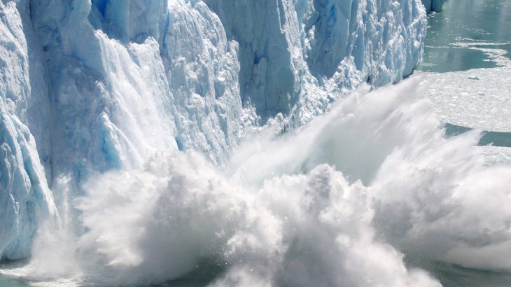 Embedded within layers of glacial ice lies radioactive material from past nuclear meltdowns and weapon testing that could be released as these glaciers melt.