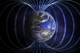 Geomagnetic jerks are unpredictable events that suddenly speed up changes in the Earth's magnetic field, making its progression hard to predict over the long term.