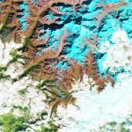 Today's Image of the Day from NASA Earth Observatory shows a glacial lake in the Himalayas that has nearly doubled in size over the last 30 years.
