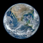 Today's Image of the Day from NASA shows one of the most detailed depictions of the Earth ever created.