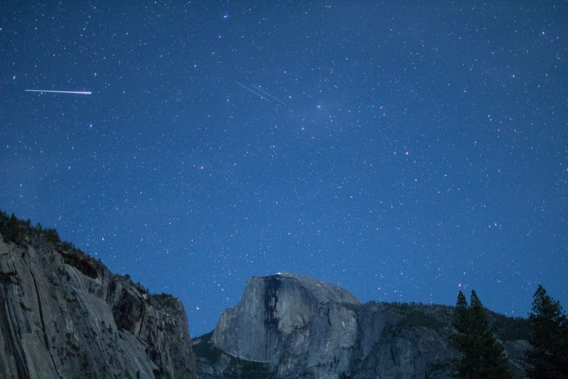 The Eta Aquiriids - a meteor shower brought by Halley's Comet years ago - are just one of the heavenly treats in store for star watchers in May.