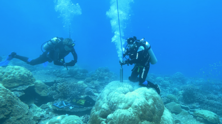 Scientists at the University of New South Wales have managed to produce a 400-year record of El Niño events using cores drilled from coral.