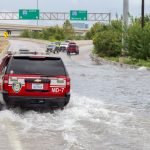 Researchers used a new computer model to show how increased rainfall caused by climate change could cause global massive disruptions to roadways.