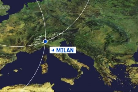 Today's Video of the Day from the European Space Agency features Milan, Italy, where the largest Earth observation conference in the world will be held next week.