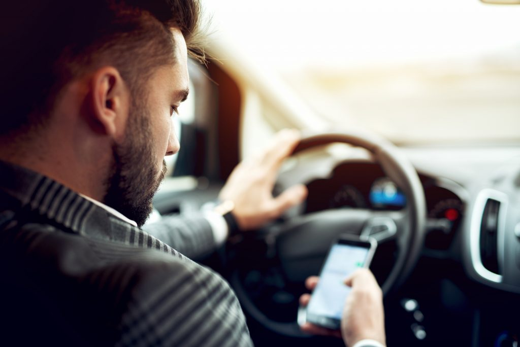 Distracted Driving More Frequent Among Millennial Than Older Parents