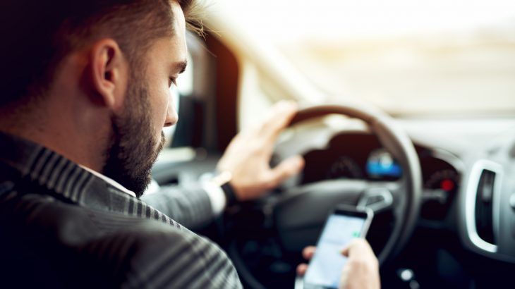 While both millennial and older parents commonly text behind the wheel, the younger drivers are becoming distracted more often.