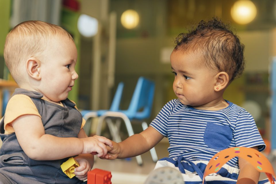 A new study conducted by linguistics experts suggests that children learn new words best from other children.