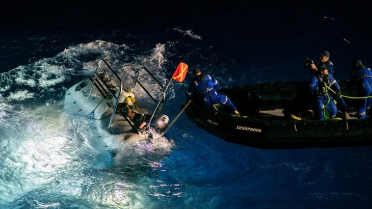Former naval officer Victor Vescovo has now descended deeper into the ocean than any other human.