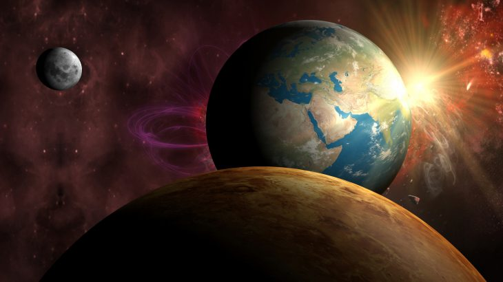 Scientists can better predict the future state of the Earth by studying the atmosphere and climate history of Venus and Mars.