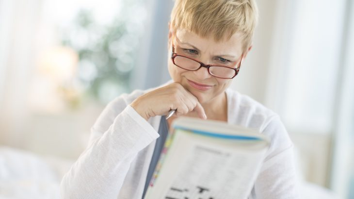 Older adults who engage in word and math puzzles have sharper minds, according to research led by the University of Exeter and King's College London.