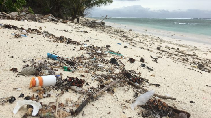 Research has revealed that a remote territory of Australia in the Indian Ocean is immersed in plastic debris.
