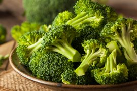 Broccoli contains a compound that inactivates a gene, called WWP1, that contributes to the growth of several common human cancers.