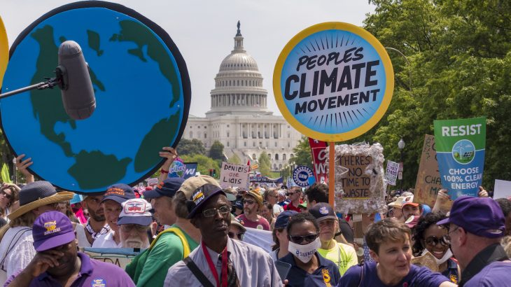 New research from Penn State University shows that climate change marches actually have a positive effect on the American public.