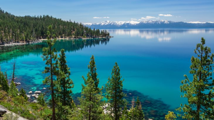 Researchers from the UC Davis Tahoe Environmental Research Center report that water clarity in Lake Tahoe is improving.