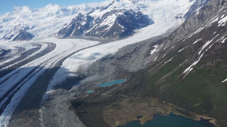 A new study from the University of Alaska Fairbanks Geophysical Institute shows that melting small-scale glaciers could lose 18-36% of their mass by 2100.