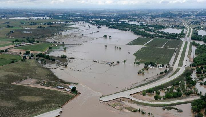 Community damage caused by extreme weather events, such as the 2013 floods that covered parts of Colorado, may shape climate beliefs more strongly than individual storm losses, a new study finds.