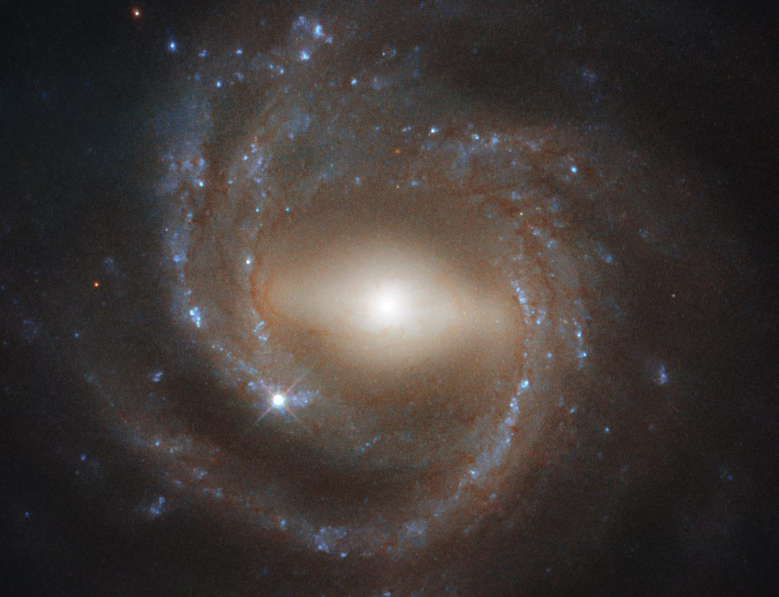 Today's Image of the Day from the European Space Agency (ESA) features a barred spiral galaxy known as NGC 7773.