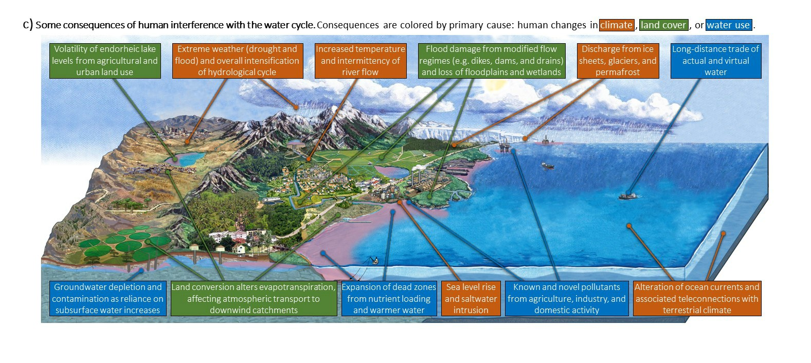 Current Water Cycle Diagrams Are Dangerously Outdated