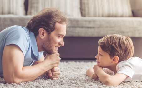 In a recent national survey, around half of fathers reported that they have faced criticism about their parenting choices.