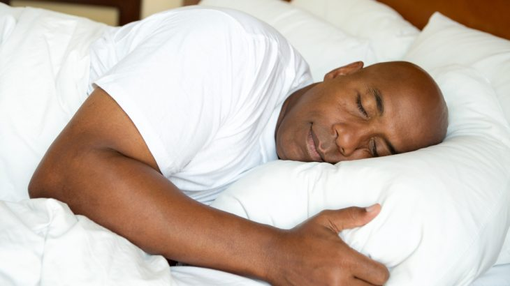 Adults do best with about eight hours of sleep, but not all at once, a sleep expert says.