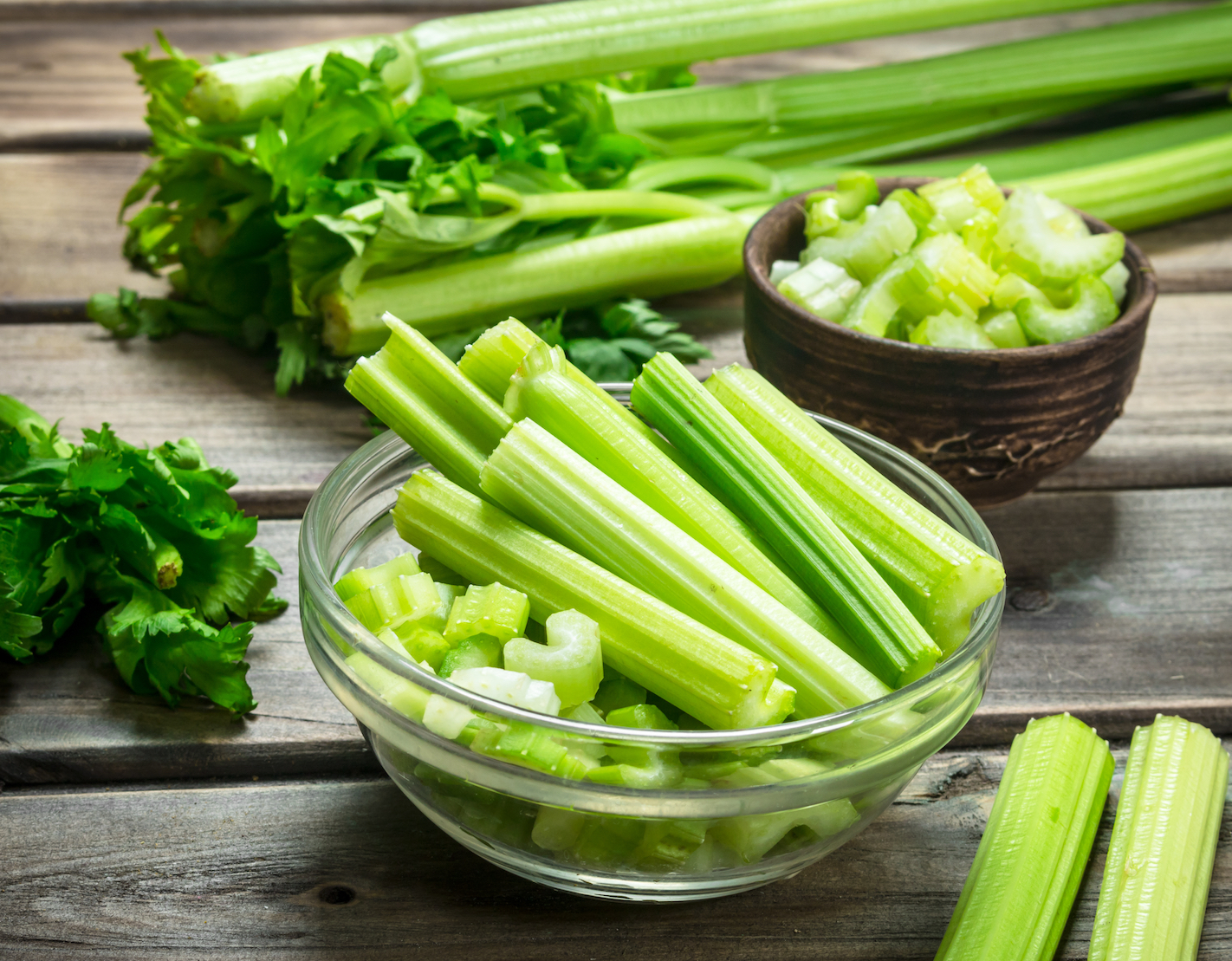 A celery stalk a day may help keep heart disease and cancer away ...