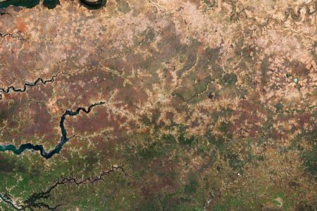 Today's Image of the Day from the European Space Agency shows the progress of the Great Green Wall, a project which will transform the lives of millions of people by restoring degraded land in Africa.