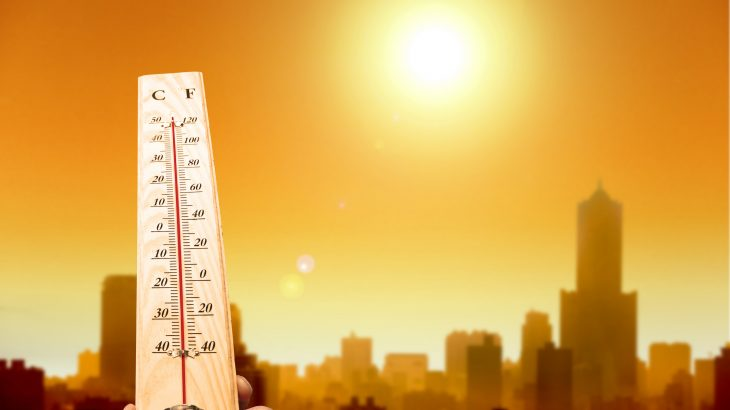 Research projects warming of 2.6 to 3.1 degrees Celsius by 2100 which would result in thousands of heat-related deaths each year.