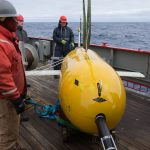 An autonomous submarine vehicle has provided climate scientists with new evidence of a link between increasing Antarctic winds and rising sea temperatures.