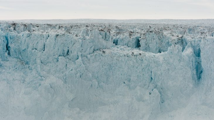 2019 marks three consecutive years of growth for the Jakobshavn glacier, according to NASA's Jet Propulsion Laboratory.