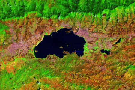 Today's Video of the Day from the European Space Agency (ESA) features Lake Valencia in northern Venezuela, which formed a few million years ago.
