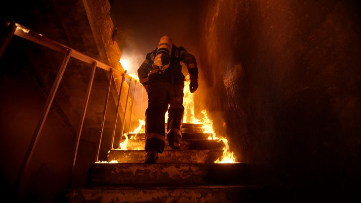 A new study has shown that half of America's firefighters are at risk of burnout due to both physical and mental exhaustion.
