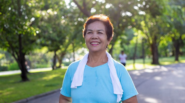 We've known that exercise can improve heart health, but how much does simply increasing our walking activity benefit our health in the long run?