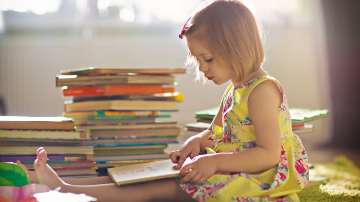 Preschoolers whose parents read books with them on a regular basis were found to score higher on math tests when they were 12 years old.