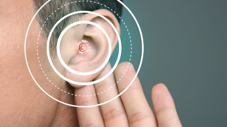 The two most common types of hearing loss are caused by aging and exposure to excessive noise.