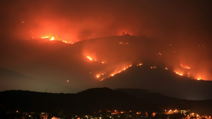 A new study conducted by researchers from the Earth Institute at Columbia University offers new evidence of how human-driven climate change is worsening California's wildfire seasons.