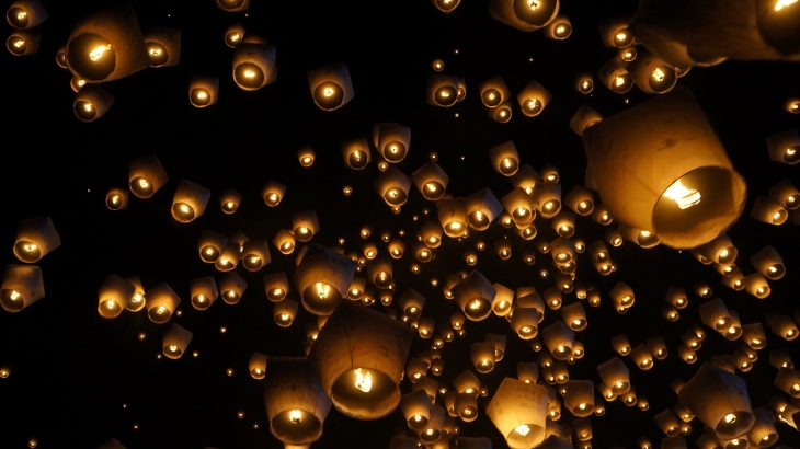 Sky lanterns are a natural alternative to balloons, yet there has been little focus on their effect on the environment.