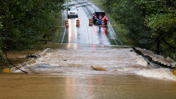 New research that climate change is directly linked to the increased severity and frequency of storms and floods in North Carolina.