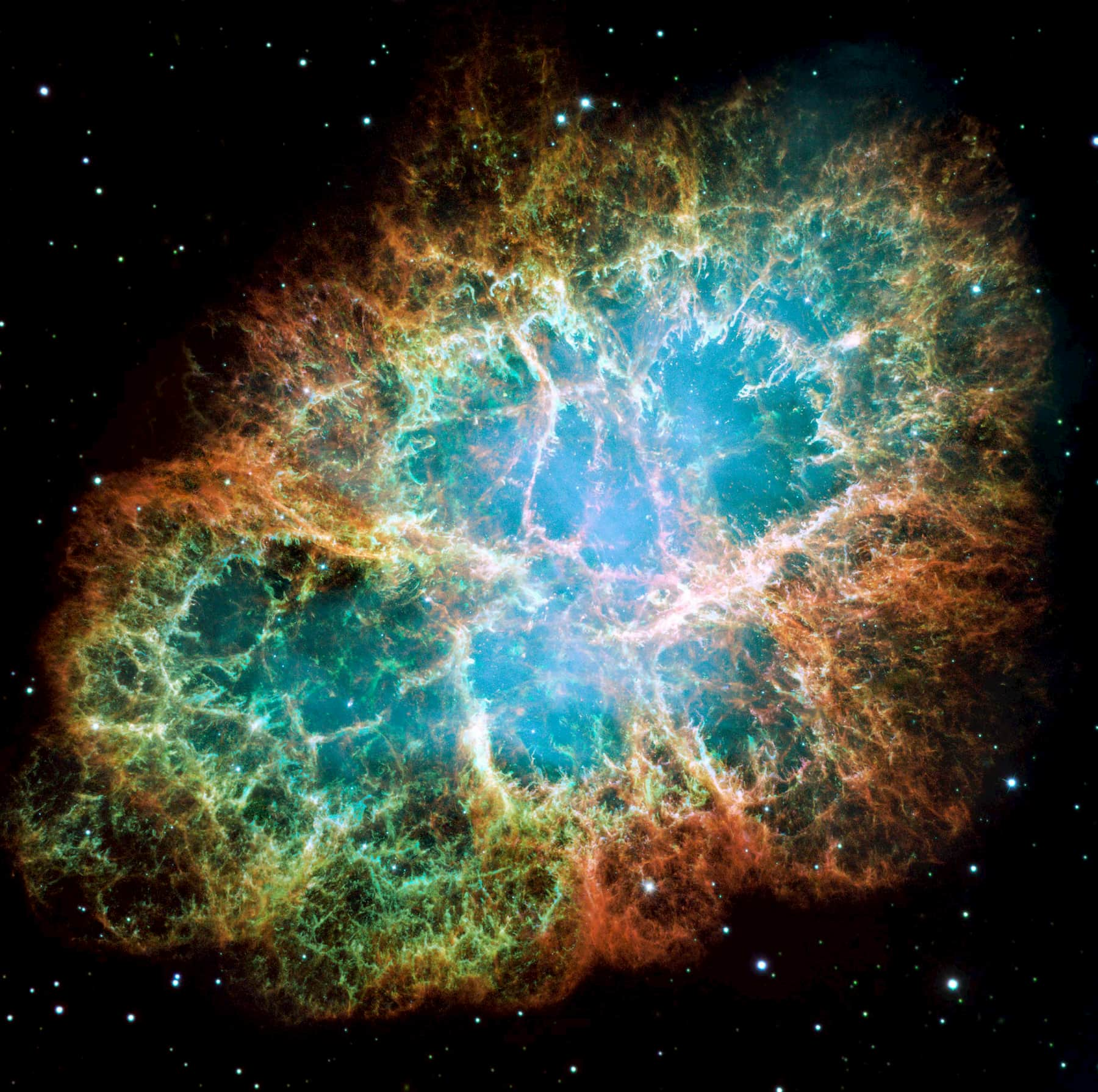 Star Pictures crab nebula
