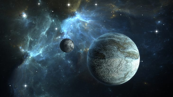 The new star system consists of a rocky planet that is slightly larger than Earth and two gaseous planets that are about twice the size of Earth.