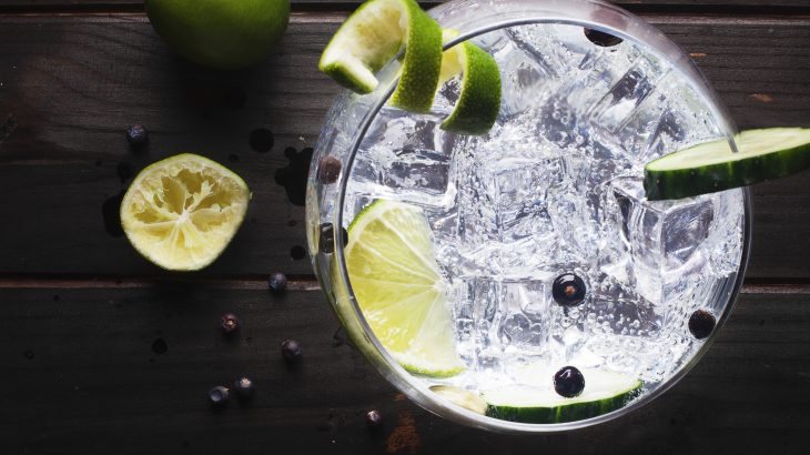 A new study revealed that producing gin with pea starch could have a substantially positive impact on the environment.
