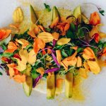 edible flowers, salad