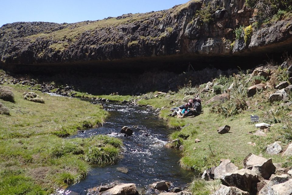 The Bale Mountains in modern day Ethiopia provided a safe refuge for ancient humans to live during the last ice age, according to a new study.
