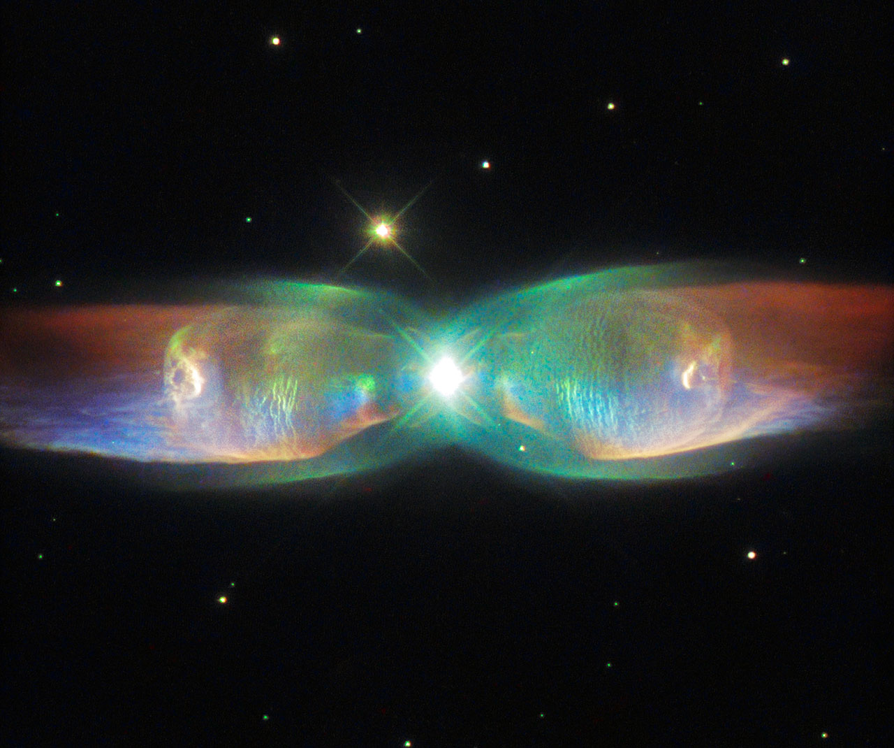Hubble captures the Twin Jet Nebula • Earth com