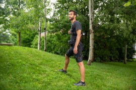 A new exosuit developed by researchers from Harvard and the University of Nebraska Omaha can help with both walking and running, and it's the first untethered portable device of its kind.