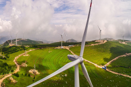 Onshore wind farms in Europe have the capacity to produce 100 times the energy that is currently generated, according to a new study.