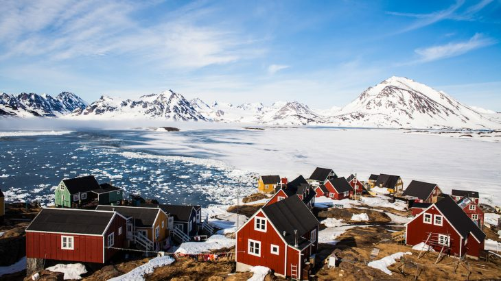 The U.S. isn't the only country with an eye on Greenland. Many of the world's nations are looking toward to the Arctic for its potential as an economic and geopolitical asset.