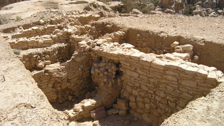 One elaborate burial site discovered in 2016 at the Late Pre-Pottery Neolithic B settlement of Ba'ja in Southern Jordan offers clues into Neolithic social structures.